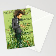 The green thumb curse III Stationery Cards
