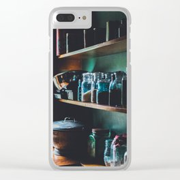 The Vintage Kitchen Clear iPhone Case