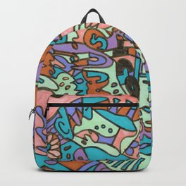 Tear My Heart Out (Orchid) Backpack