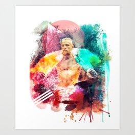 Conor McGregor Abstract Art Print Art Print