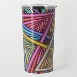 turn around with colors -56- Travel Mug