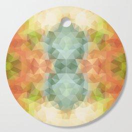 Triangles design in bright colors Cutting Board