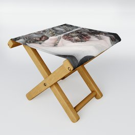 Wish for Eternal Winter Folding Stool