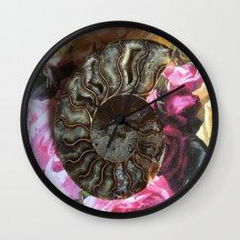 The Ancient Ammonite Wall Clock