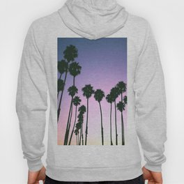 Palm Tree Purple Sunset Hoody