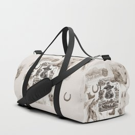 Country Western Duffle Bag