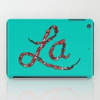 la iPad Cases featuring LA by Chris Piascik