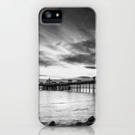 Monochrome Pier iPhone Case