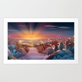 The Longest Day Art Print