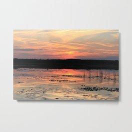 Sunset on Lake Hancock #1 Metal Print