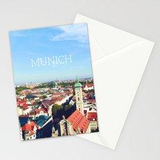 Munich skyline Stationery Cards