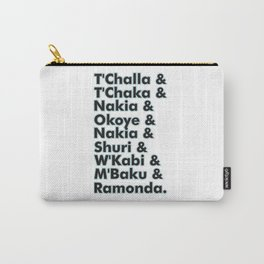 black panther character name Carry-All Pouch