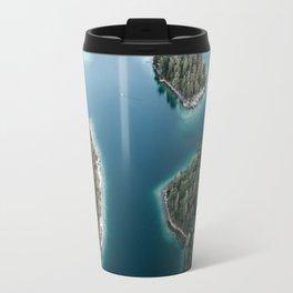 Lakeside Views at Sunset - Landscape Photography Travel Mug