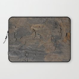 CLOSEUPS -  structure of shale plate  Laptop Sleeve