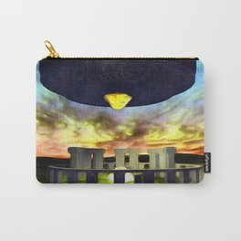 Ancient Aliens - UFO at Stonehenge Carry-All Pouch