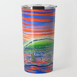 Surf Art Psychadelic  Travel Mug