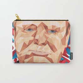 Portrait of Sir Winston Churchill Carry-All Pouch