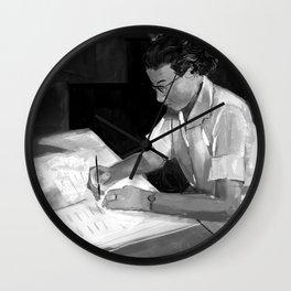 Women in Science, Hidden Figure: Katherine Johnson Wall Clock