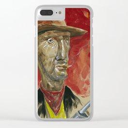 Lucky Luke Clear iPhone Case