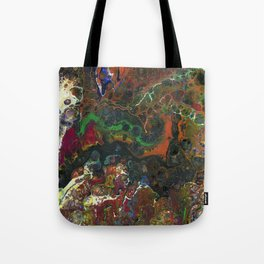 The Reef II - Original, abstract, fluid, acrylic painting Tote Bag