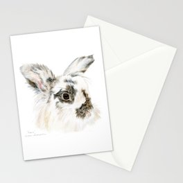 Pixie the Lionhead Rabbit by Teresa Thompson Stationery Cards
