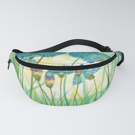 May your cornflowers never fade Fanny Pack