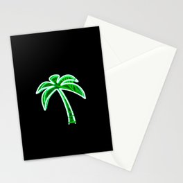 Palm Tree (Neon) Stationery Cards