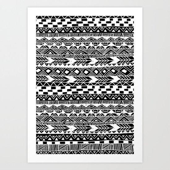 Tribal Tuesday Art Print