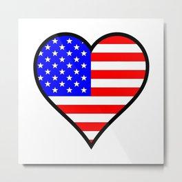 Love America Metal Print