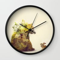 spring Wall Clocks featuring Spring by Daniel Taylor