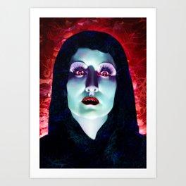 Countess Dracula Art Print