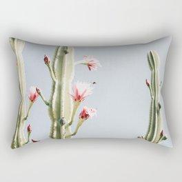 Cereus Cactus Blush Rectangular Pillow