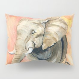 Mom and Baby Elephant Pillow Sham