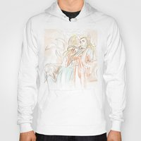 hobbit Hoodies featuring Thranduil_The Hobbit by JoySlash