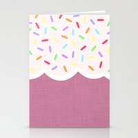 sprinkles Stationery Cards featuring Sprinkles by Glanoramay