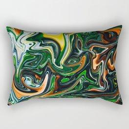 Citrus Jungle Rectangular Pillow
