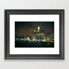 Liver Building, Liverpool Framed Art Print