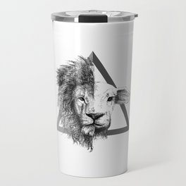 Lion and Lamb Travel Mug
