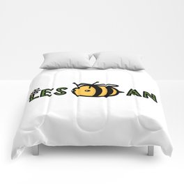 Lesbian Bumble Bee Comforters