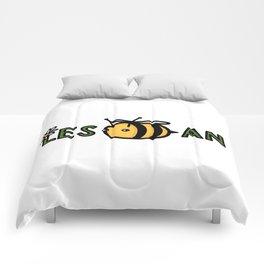 Lesbian Bumble Bee Comforters