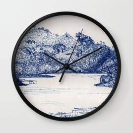 Olifants River, Balule, South Africa Wall Clock