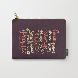 Great Minds Carry-All Pouch