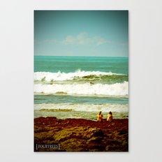 High/Low Canvas Print