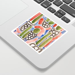Cocktail Bling Plants Sticker