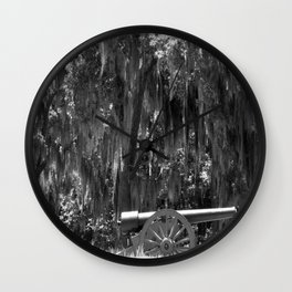 Savanah Cannon Wall Clock