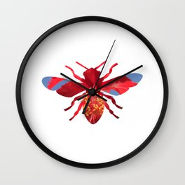 bee_dream_09 Wall Clock