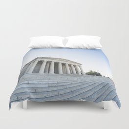 Skewed Politics Duvet Cover