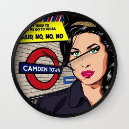 Amy Camden Town Wall Clock