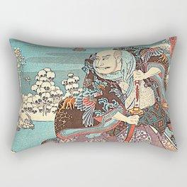 Hiroshige Rectangular Pillow