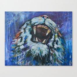 Tigers Roar Canvas Print